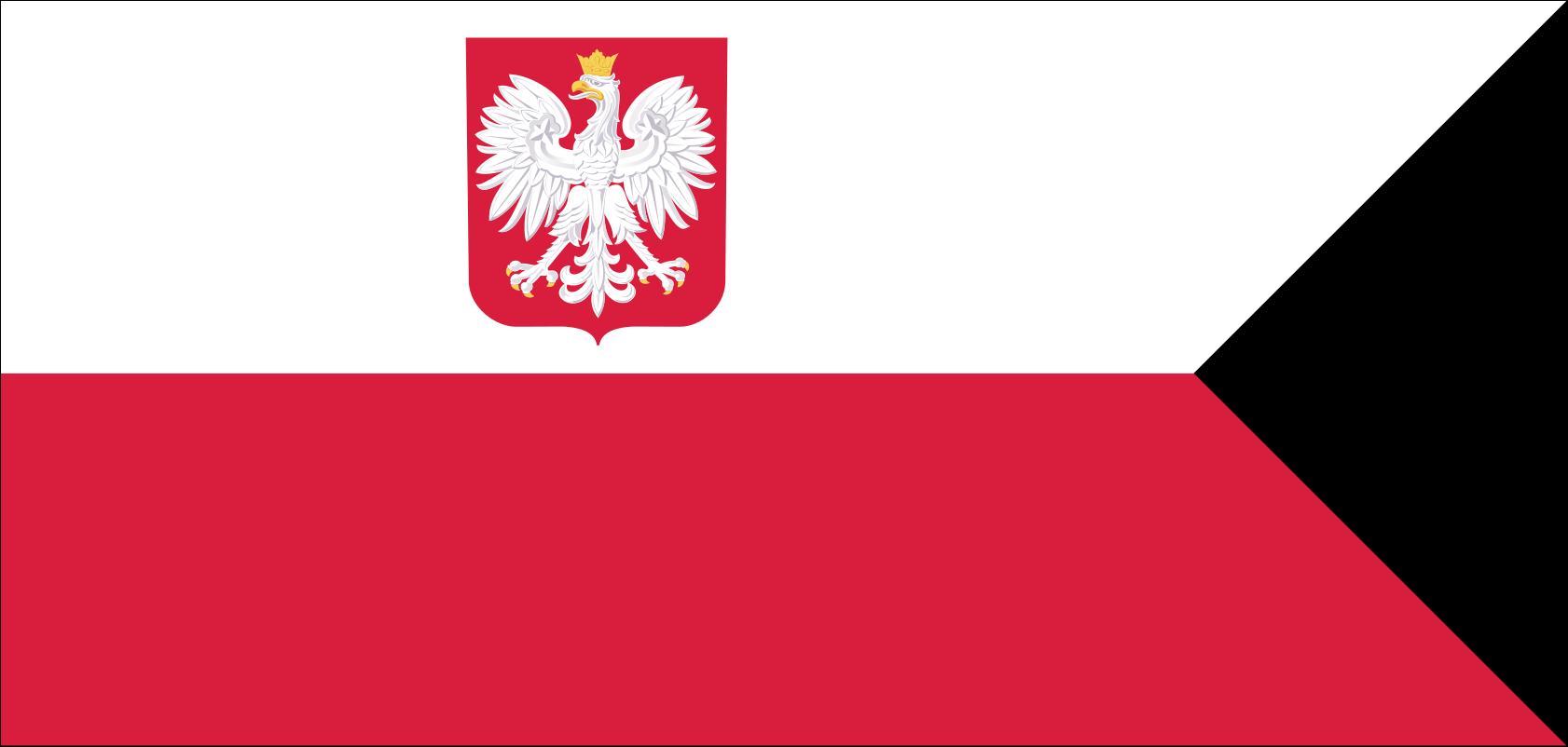 Bandera Naval de Polonia