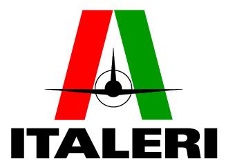 Aviones a escala de la marca Italeri en escala 1:100