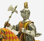 Caballeros de la Edad Media 1:32 Altaya