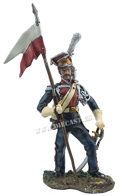 1º Regimiento de Lanceros a Caballo dela Guardia Imperial, 1812, 1:32, Hobby & Work