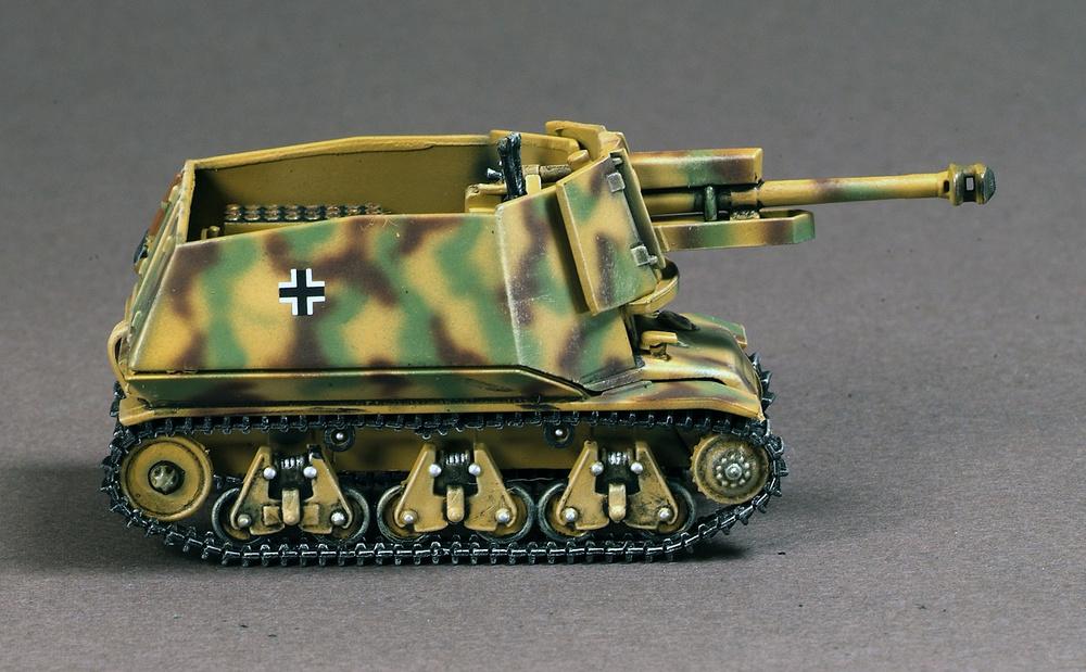 10.5CM LE. FH18 AUF39-H, 21st Panzer Division, Nrmandía, 1944., 1:72, War Master