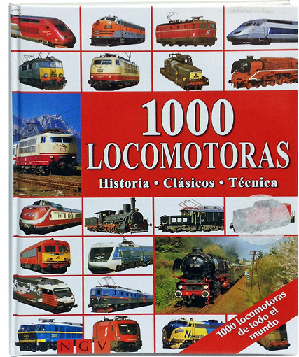 1000 Locomotoras, Editorial NGV