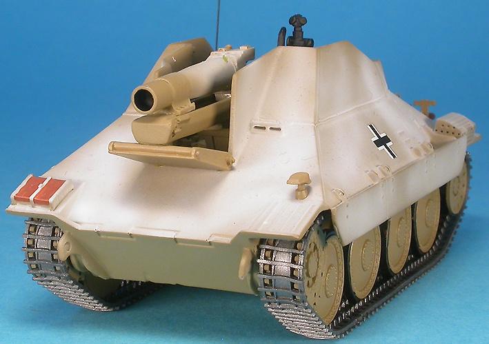 15 cm schweres Infanteriegeschütz 33/2(Sf) auf Jagdpanzer 38(t) Hetzer, Operation Nordwind, 1945, 1:48, Gasoline