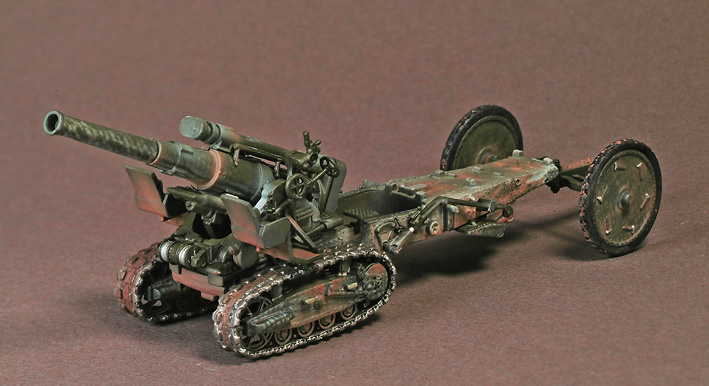 203mm Heavy Howitzer M1961 B-4, Berlin, 1945, 1:72, War Master