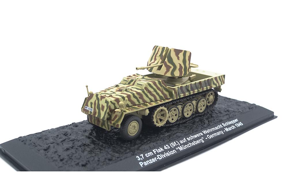 3.7 cm Flak 43 auf (SF) s WS, Panzer Division