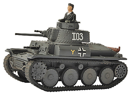 38(t), German Panzer, Eastern Front, 1942, 1:72, Forces of Valor