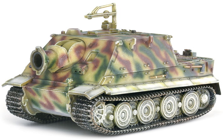38cm R61 Auf Sturmtiger, 1001st Sturmmörser Kompanie, Bonn Area 1945, 1:72, Dragon Armor