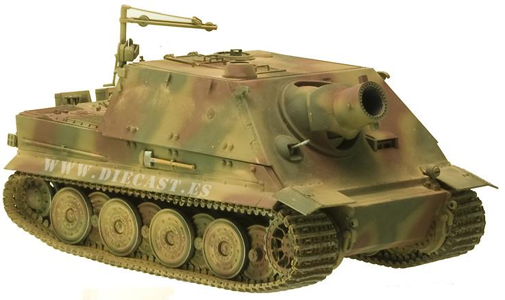 38cm RW61 auf Sturmmörser, Tiger, 1:35, AFV Club