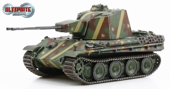 5.5cm Zwilling Flakpanzer, Germany, 1945, 1:72, Ultimate Armor