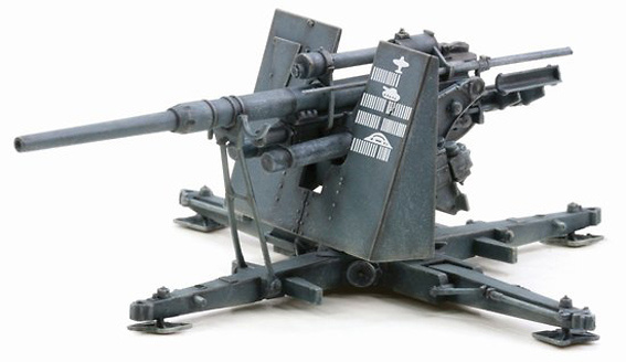 88mm FlaK 36, Estalingrado, 1942, 1:72, Dragon Armor