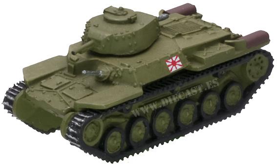 97, tanque medio, Japón, 2ª Guerra Mundial, 1:87