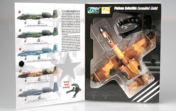 A-10, 917th Wing Barksdale AFB, Iraq, 1990, 1:72, Easy Model