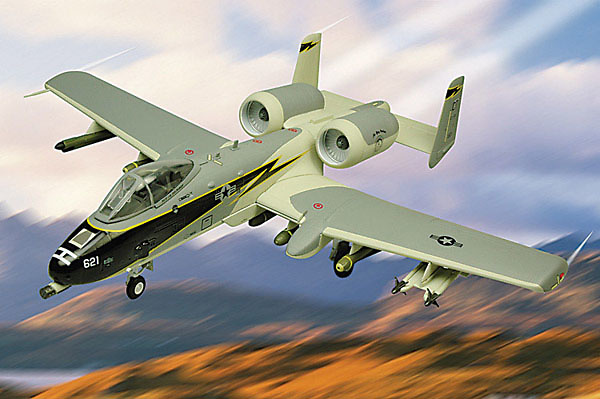 A-10 Warthog A-10, Black Lightning, 1:48, Franklin Mint