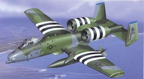 A-10 Warthog U.S.A.F. 930 OG-45 TFS