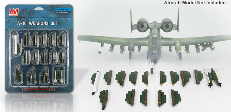 A-10 Weapon Loads (Euro 1 Scheme), 1:72, Hobby Master