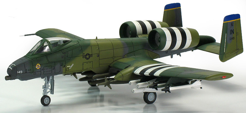 A-10A, 45th TFS, Indiana ANG, Grisson AFB, 1:72, Hobby Master
