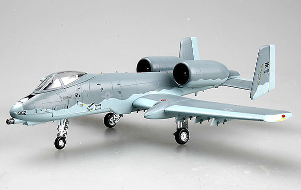 A-10A, 510th FS 52d Fighter Wing, Germany, 1992, 1:72, Easy Model