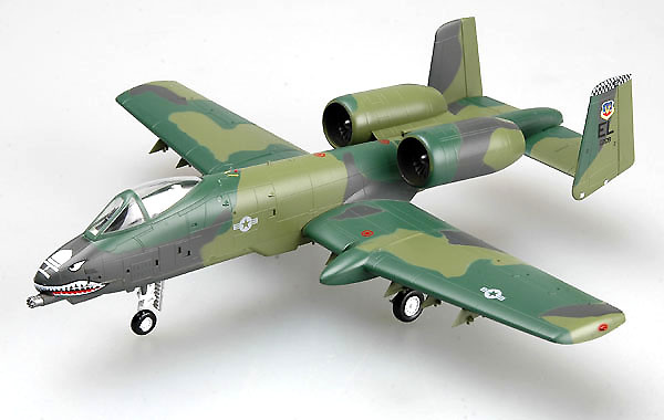 A-10A 23rd TFW, England AFB,1990, 1:72, Easy Model