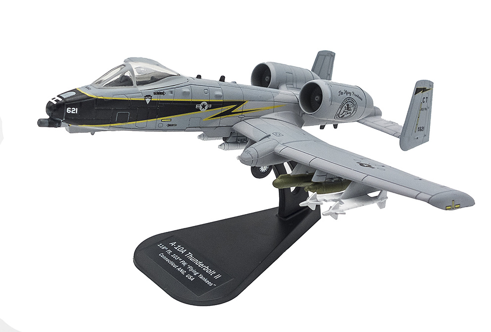 A-10A Thunderbolt II 118th FS, 103rd FW, Connecticut Air National Guard, USA, 2003, 1:100, Italeri