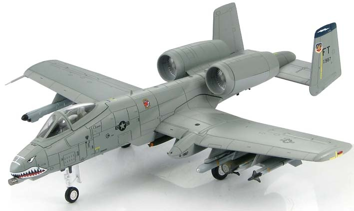 A-10A Thunderbolt II 75th Fighter Squadron, Operation Iraqi Freedom, 1:72, Hobby Master