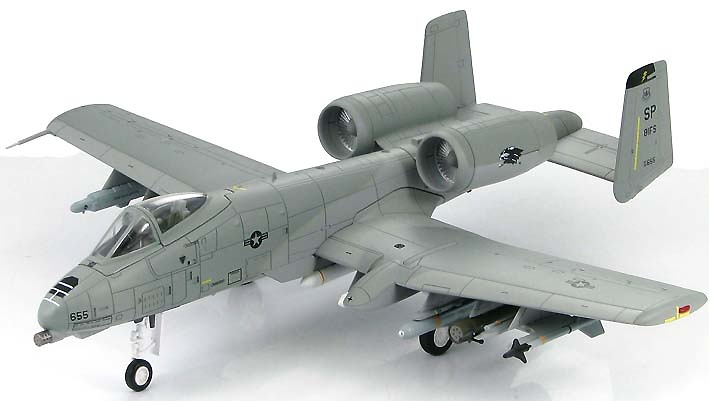 A-10A Thunderbolt II 81st Fighter Sqn., Operation Allied Force, Kosovo Crisis 1999, 1:72, Hobby Master