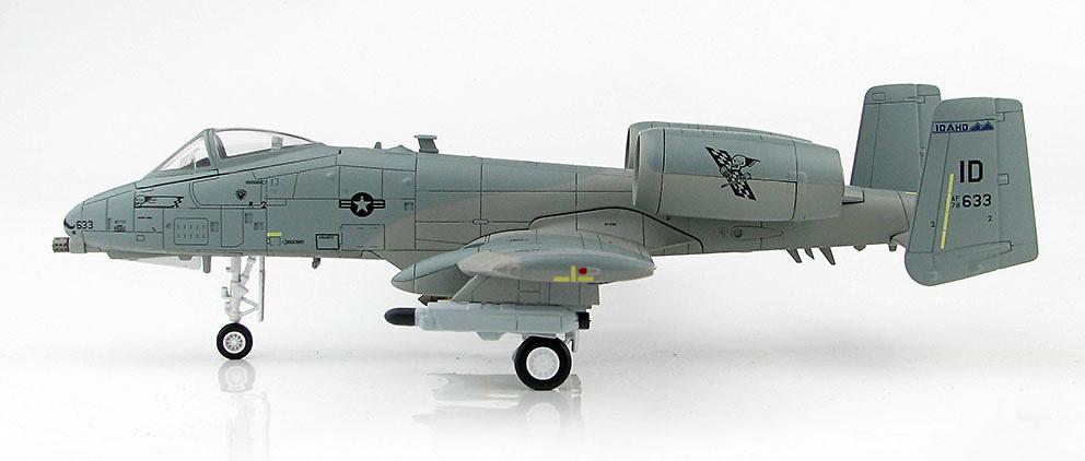 A-10C Thunderbolt II 78-0633, 190th FS/124th FW, Incirlik AB, Turquía, Octubre, 2016, 1:72, Hobby Master