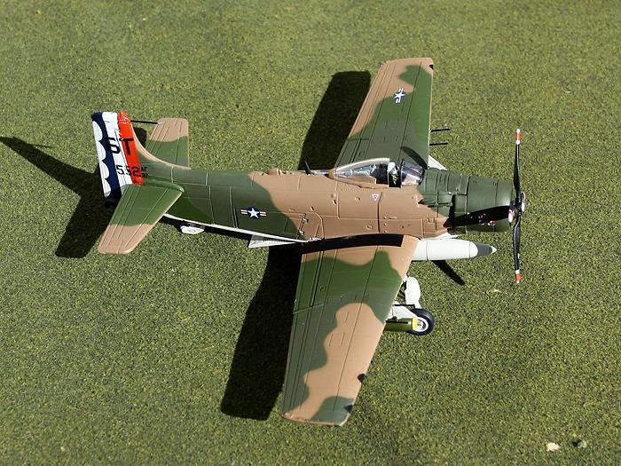 A-1H Skyraider, USAF 633rd SOW, 6th SOS,