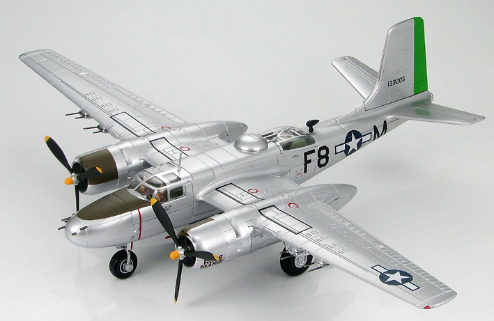 A-26B Invader 670th BS, 416th BG, France 1945, 1:72, Hobby Master