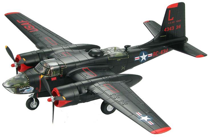 A-26C Invader 37th BS, 17th BG, USAF, Pusan, Korea 1952, 1:72, Hobby Master