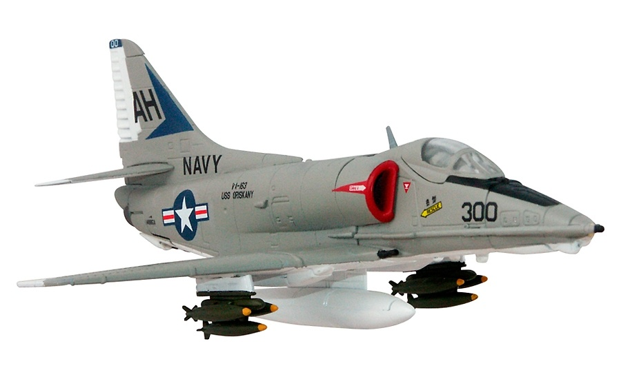 A-4E Skyhawk Buno, USS Forrestal, Gulf of Tonkin, 1967, 1:72, Corgi