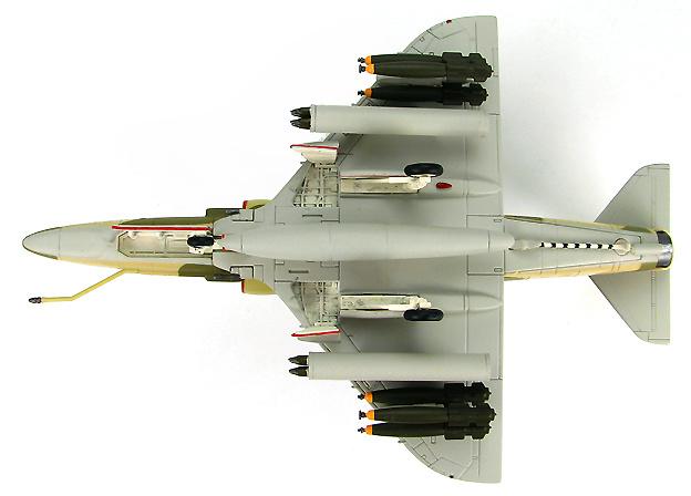 A-4KU Skyhawk BuNo.160188, Free Kuwait Air Force, Gulf War, Dhahran AB, Saudi Arabia Jan 1991, 1:72, Hobby Master