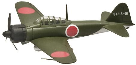 A 6M Zero, Armada Imp. Japonesa, 1:100, Italeri