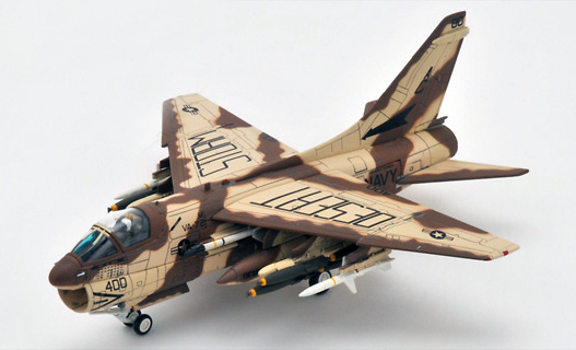 A-7E Corsair II, VA-72 Bluehawks AC400, 1991, Desert Storm, 1:72, Century Wings