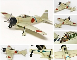 A6M Zero, Saburo Sakai, 1:18, Elite Force