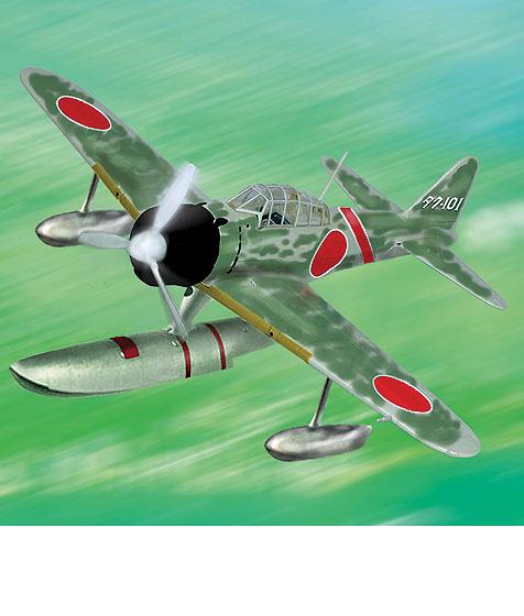 A6M2 Zero, IJN, (A6M2-N Floatplane), 1:48, Franklin Mint