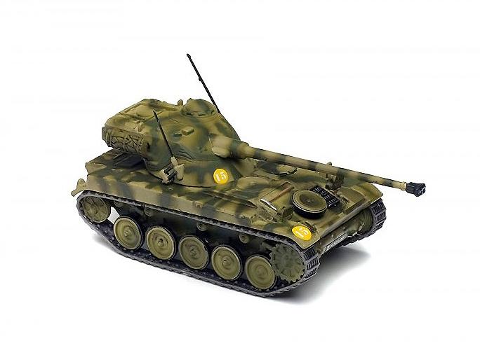 AMX 13/75, 30e Groupe de Chasseurs, 7e Division Blindee, Francia, 1967, 1:72, Solido