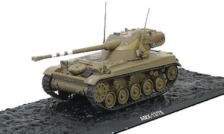 AMX-13/75, Israel Defense Force Armored Brigade, West Bank, 1967 1:72, Altaya