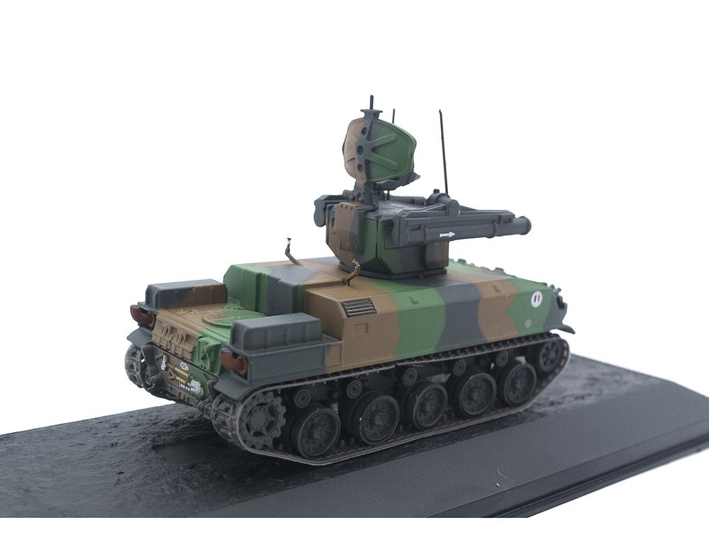 AMX 30 Roland, 57e Régiment d'Artillerie Antiaérien, Marne, Francia, 1991, 1:72, Altaya
