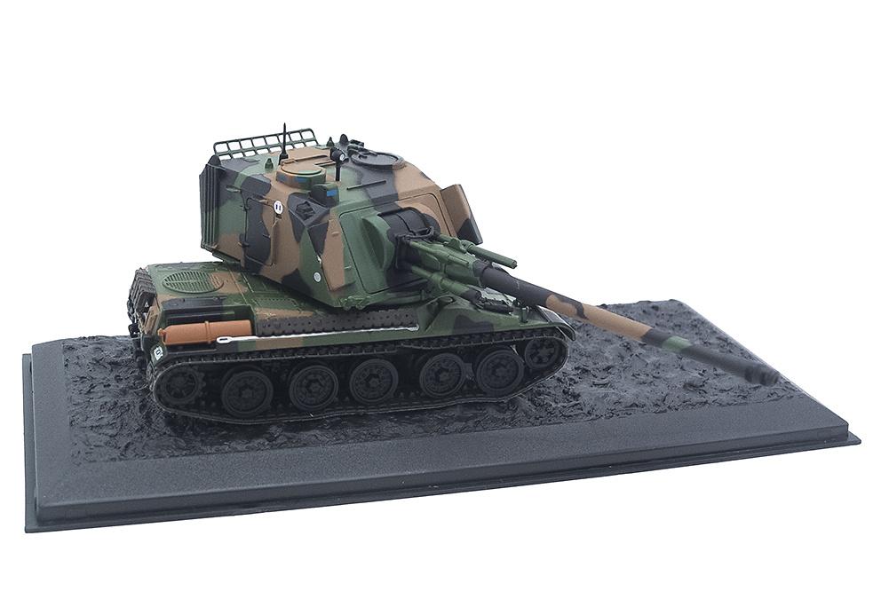 AMX AU F-1, 3e Régiment d'Artillerie de Marine, Canjuers, Francia, 1997, 1:72, Altaya
