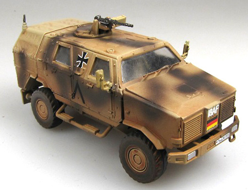 ATF Dingo 1, Bundeswehr ISAF, 1:72, Panzerstahl