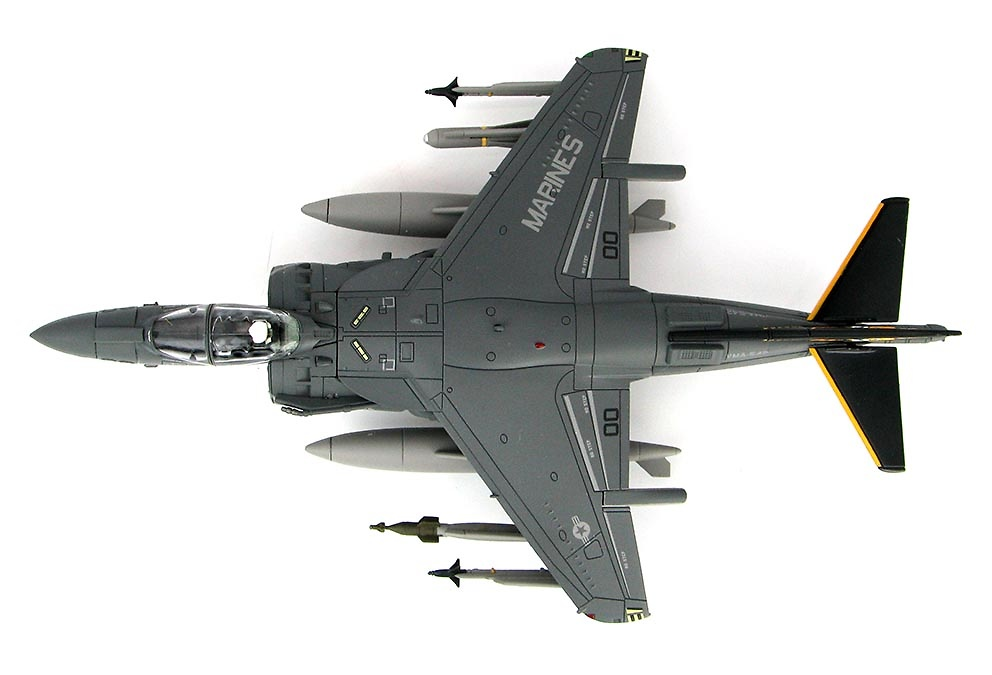 AV-8B+ Harrier II BuNo 165354, VMA-542, Cuerpo de Marines de los Estados Unidos, 2016, 1:72, Hobby Master