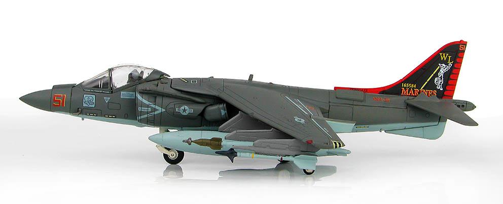 AV-8B+ Harrier II BuNo 165584, VMA-311, Febrero, 2012 1:72, Hobby Master