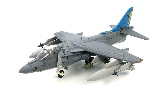 AV-8B Harrier II Plus BuNo 165006, VMA-513 NAF, El Centro, California, November 2010, 1:72, Hobby Master