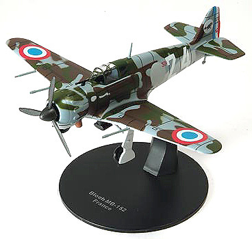 AVION BLOCH MB-152, FRANCIA, 1:72