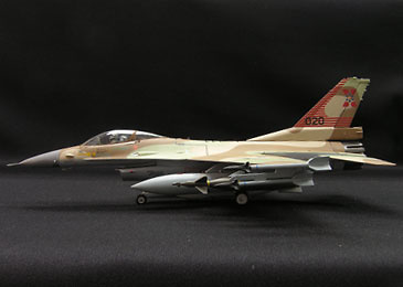 AVION F-16, 601 FTC Israli AF Flight Test Center, Tel Nof AB, 1:72, Witty Wings
