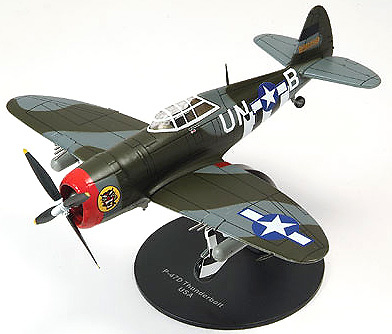 AVION REPUBLIC P-47D THUNDERBOLT, USA, 1:72