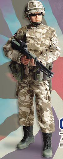 Aaron, Operation Telic, Desert Rats, 1:6, Dragon Figures