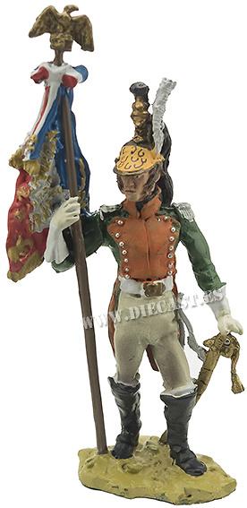Abanderado del 25º Regimineto de Dragones, 1812, 1:32, Hobby & Work