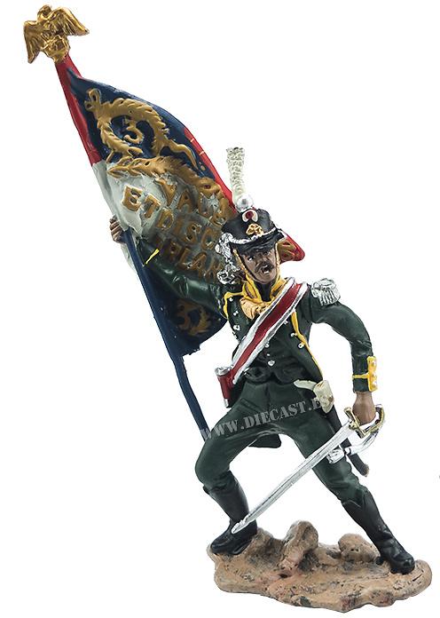 Abanderado del 3ª Regimiento Extranjero (Legión Irlandesa), 1812, 1:32, Hobby & Work