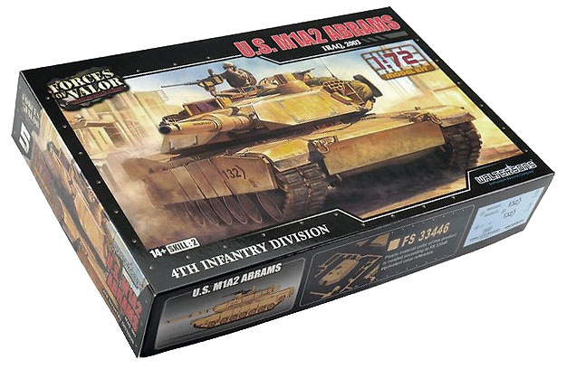 Abrams M1a2, 4th Infantrry Division, USA, 1:72, Forces of Valor